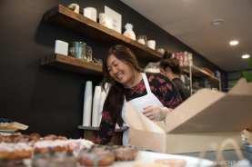 Mi Kim at Raised Doughnuts