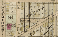1905 Baist map of Werett's Addition