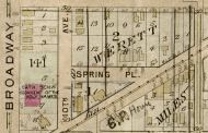 1905 Baist map of Werett's Addition