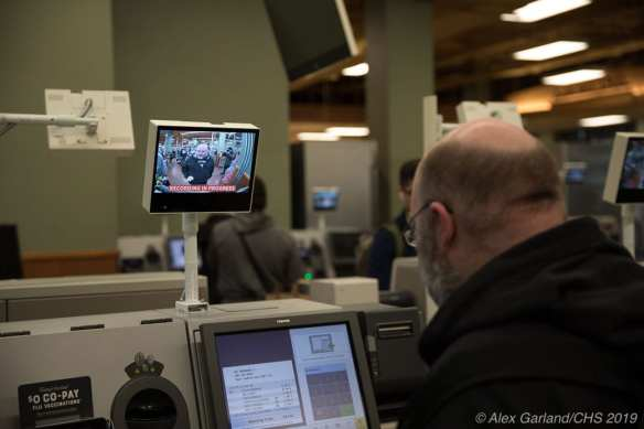 CHS Pics | The new 'selfie'-checkouts at the Broadway Market