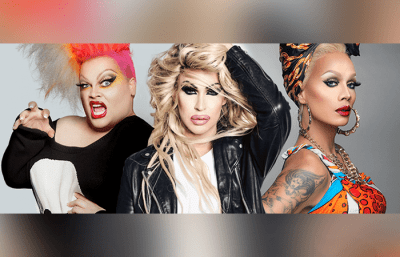First Wives Fight Club - starring Brooke Lynn Hytes, Ginger Minj, Raja, and Peaches Christ @ SIFF Egyptian Theater
