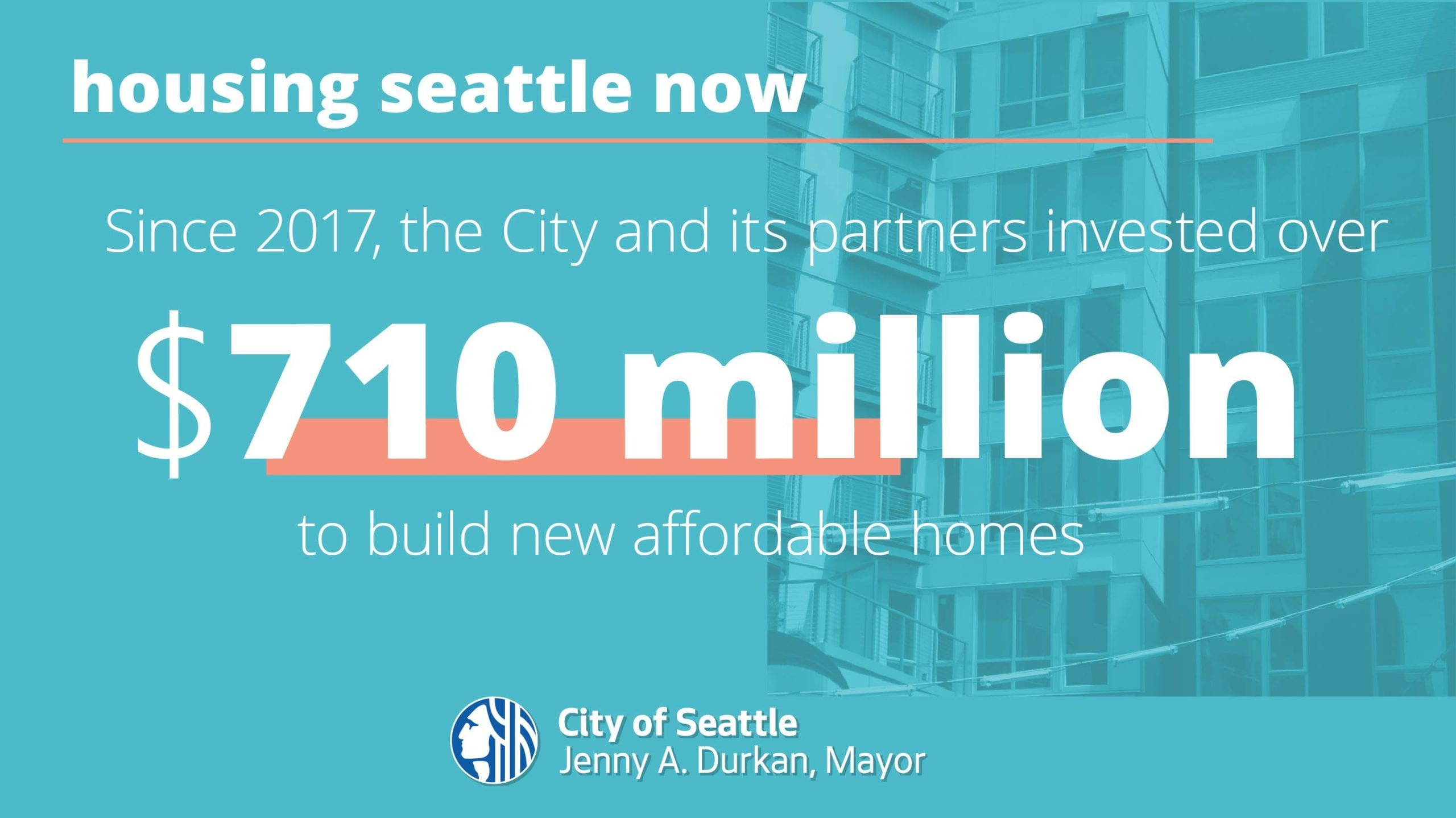 Mayor comes to Capitol Hill to launch $50M affordable 'Housing