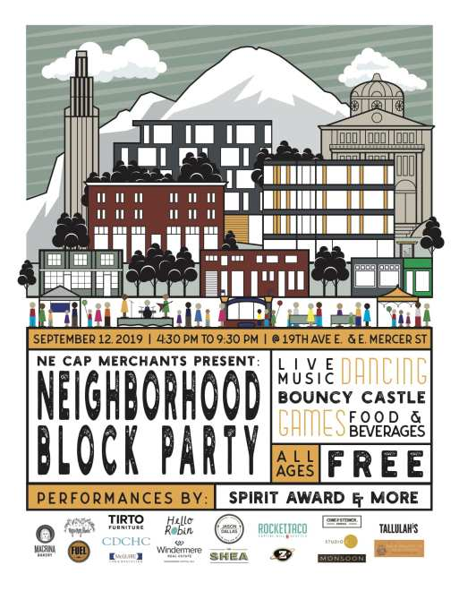 On the List | 19th Ave Neighborhood Block Party, Capitol