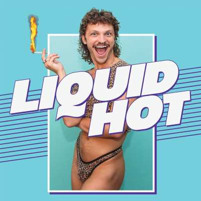 Mulleted Woody Shticks stands in fresh undies with a cigarette flaming like the Olympic torch!