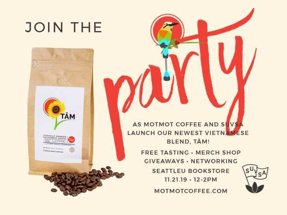 MotMot Coffee launches Tam Vietnamese coffee on November 19