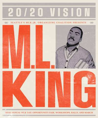 2020 Seattle MLK Day @ Garfield High School