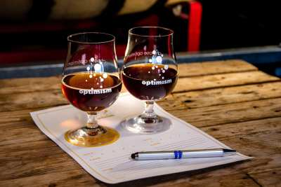 Optimism's FIRST Barrel-Aged Night! @ Optimism Brewing Company