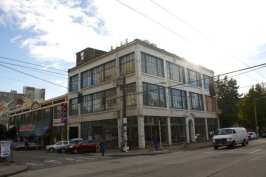 The White Motor Company building...