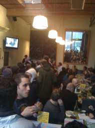 Cafe Pressed packed full