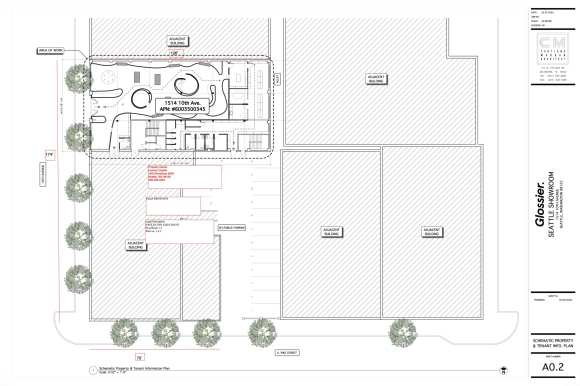 Glossier partial site plan 041920