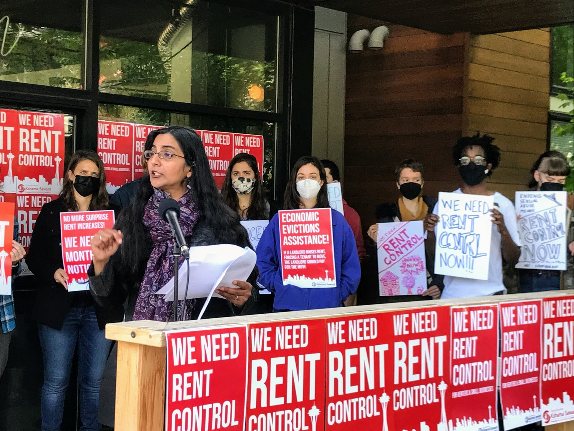 'I am with the people' — Sawant sets out to complete the big three: $15 minimum wage, Tax Amazon, and, now, rent control in Seattle