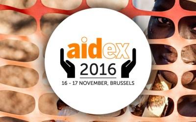 AidEx – 6ª edición del principal evento internacional dedicado a las necesidades únicas de los profesionales del desarrollo y de ayuda en todo el mundo
