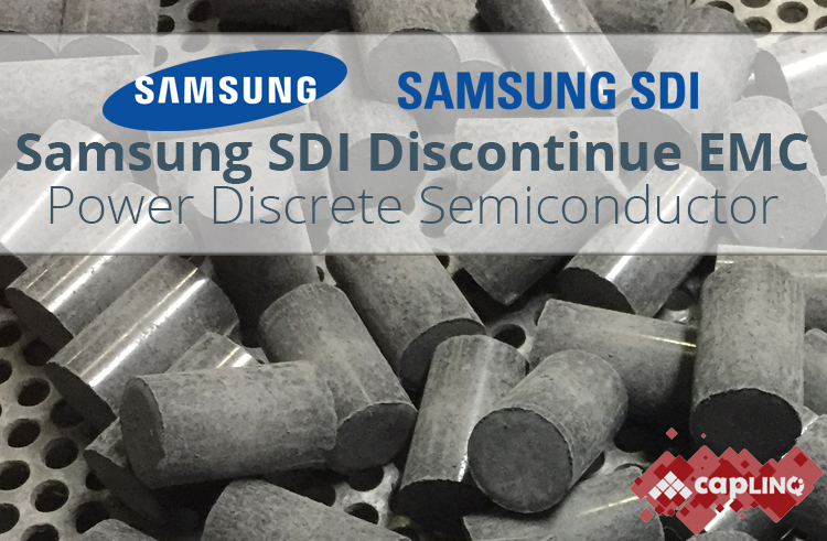 Samsung SDI Discontinue EMC Power Discrete Semiconductor Image