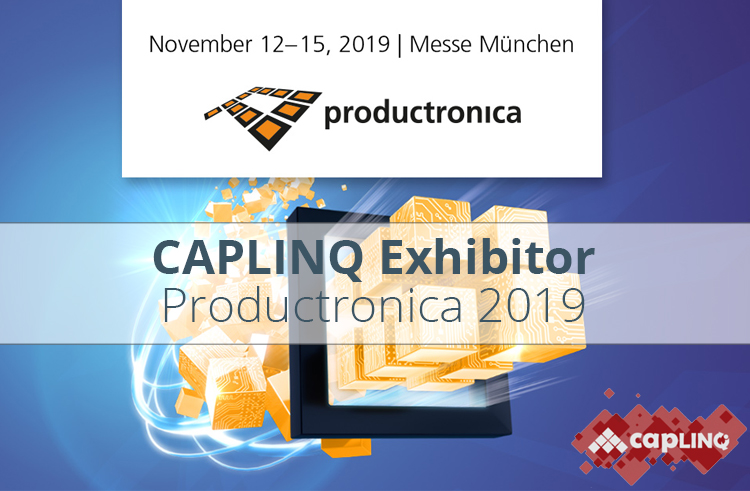 CAPLINQ Exhibitor Productronica Messe Munchen
