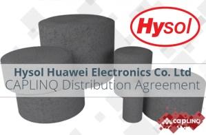 Caplinq Hysol EMC distribution agreement