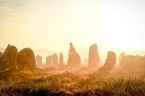 カルナクの巨石並び (Lilian Vezin)