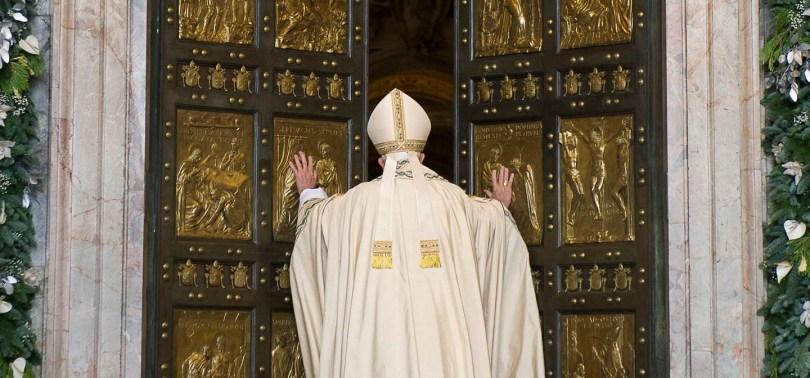 SS. Papa Francesco - Apertura Porta Santa      @Servizio Fotografico - L'Osservatore Romano