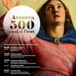 Locandina celebrazioni 500 anni Assunta ai Frari