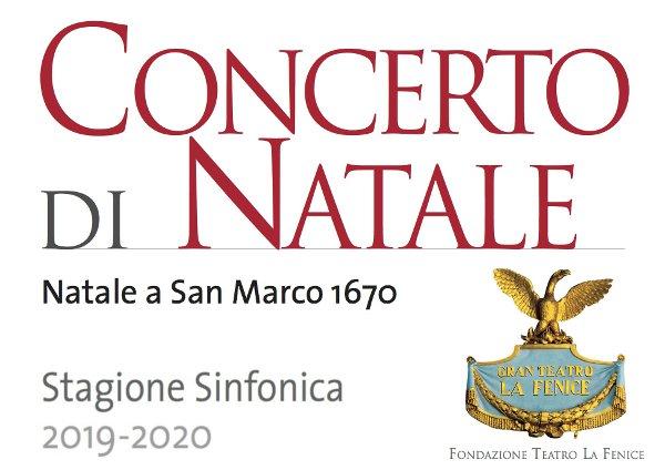 concerto Natale - Fenice 2019
