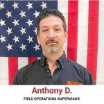 Anthony D. Field Operations Supervisor