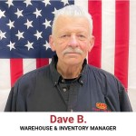 Dave B Warehouse & Inventory Manager