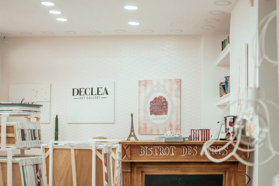 Lo showroom di Declea