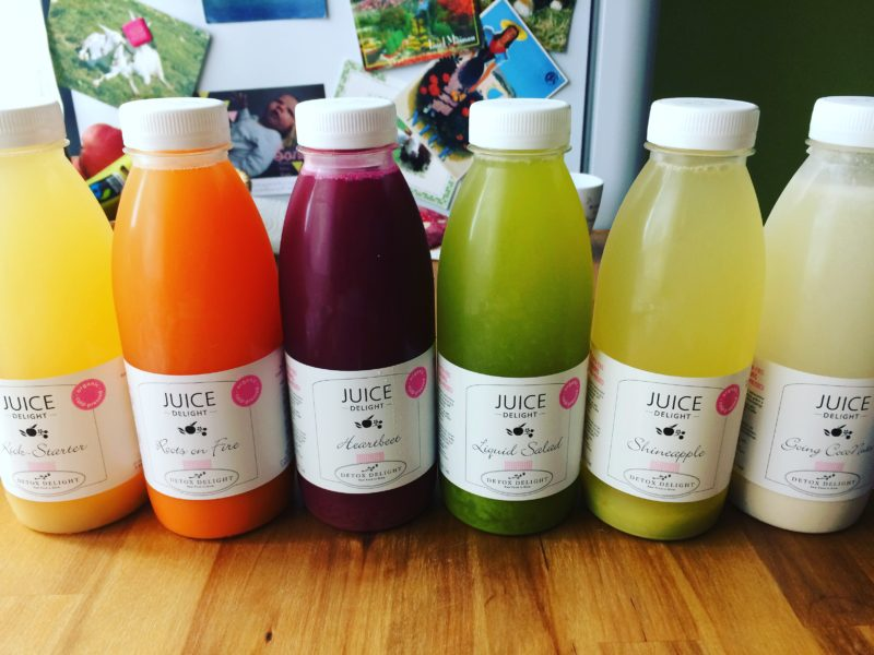 Silence is definitely golden and a juice detox is a good idea