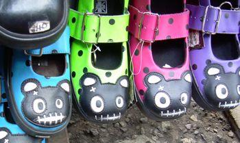Lustige Schuhe