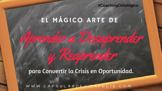 Aprender Desaprender Reaprender