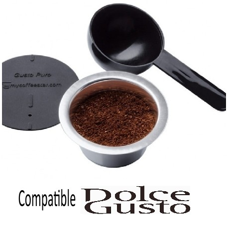 Gusto Puro Rechargeable Battery Compatible Dolce Gusto Mycoffeestar