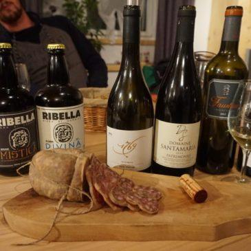 Les Réunions Capsules et Bouchons #1 Vins et Bières Corses