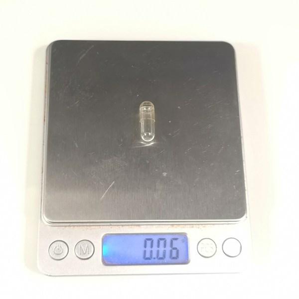 capule 0 weight