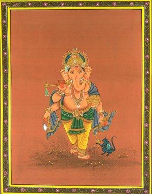 Ganesh musicien