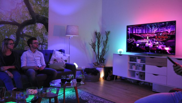 Lichtstimmung mit Philips Hue The voice of Germany