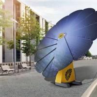 Smarte Blume zur Stromgewinnung − Smartflower