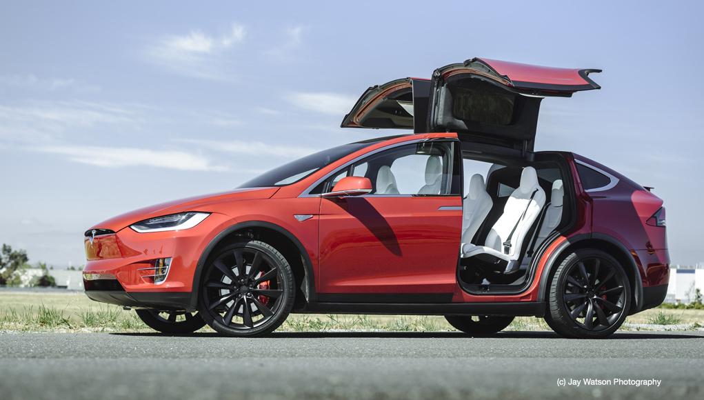 Tesla Model S an der Fremont Factory (c) Jay Watson