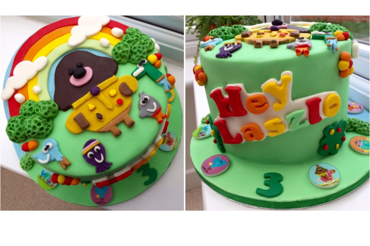 DIY Hey Duggee Theme Birthday Party - Captain Bobcat