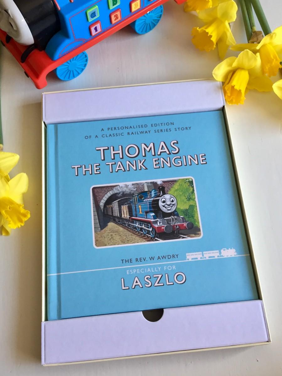 Personalised Thomas the Tank Engine book