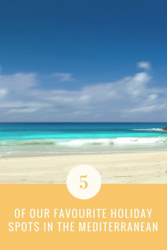 5 favourite holiday spots pin