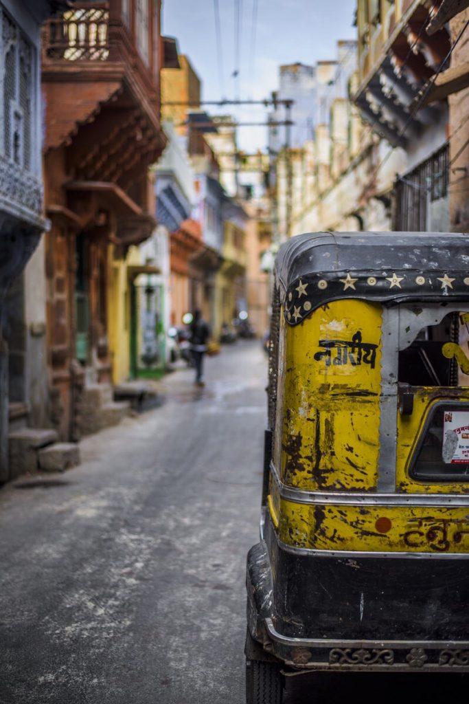 india city Scene