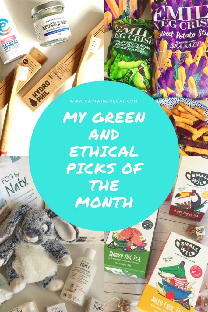 My green and ethical picks of the month