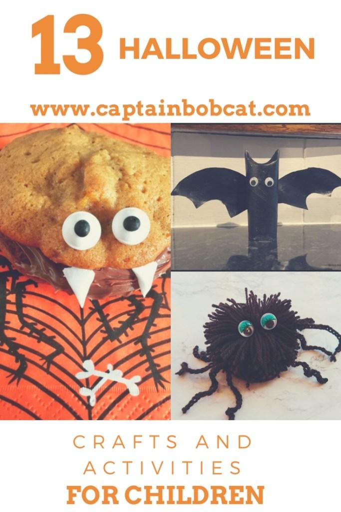 13 Halloween Crafts and Activities for Children