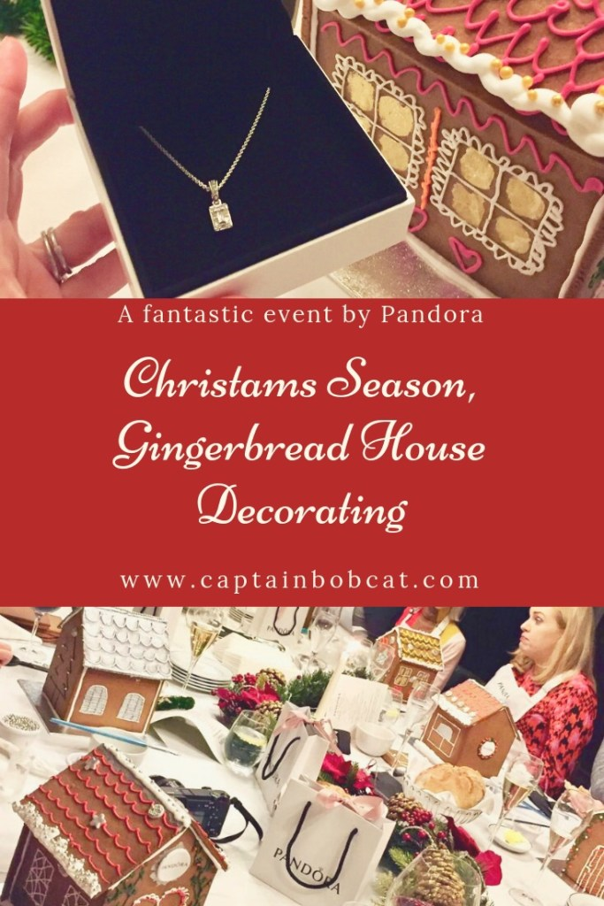 Christmas Season and Festive Gingerbread House Decorating - a Fantastic Event by Pandora