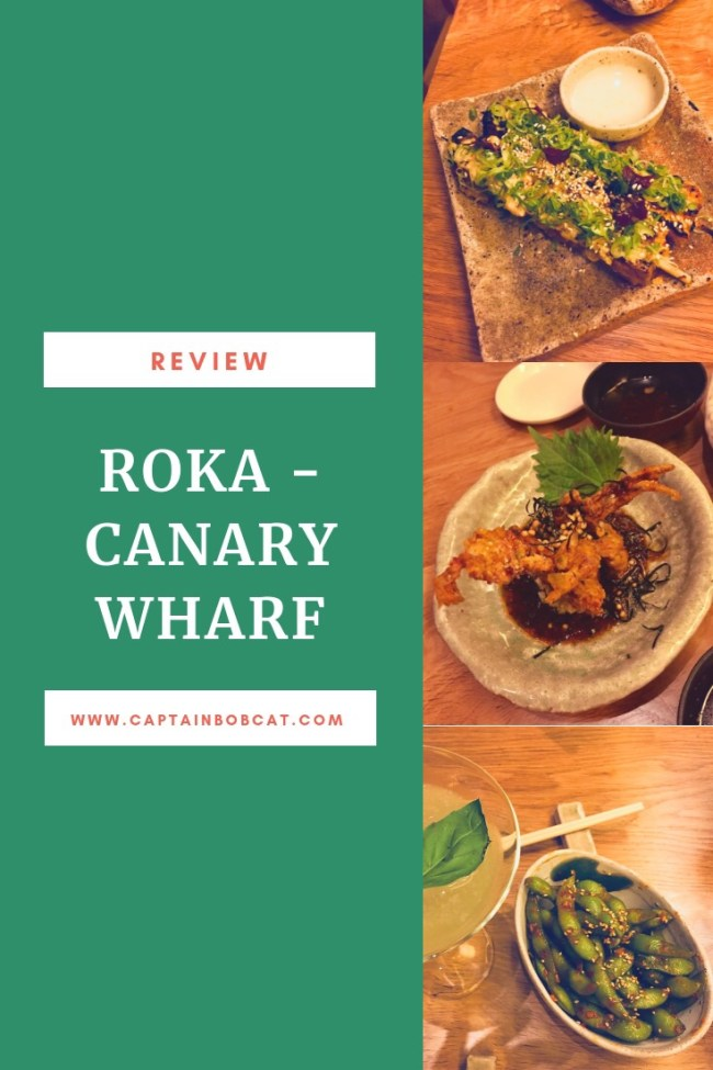 ROKA Canary Wharf Review - Festive Season Menus