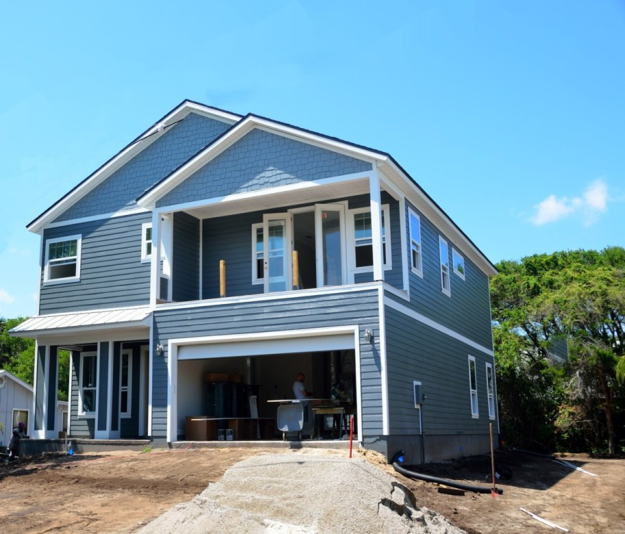 new house building