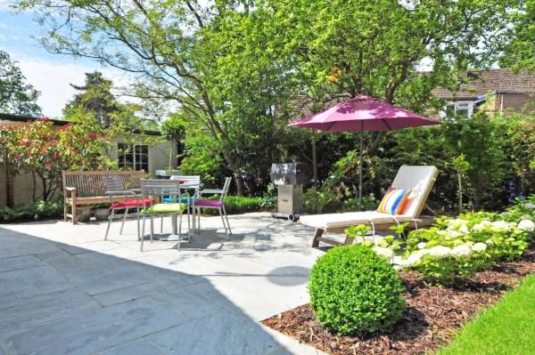 garden backyard parasol