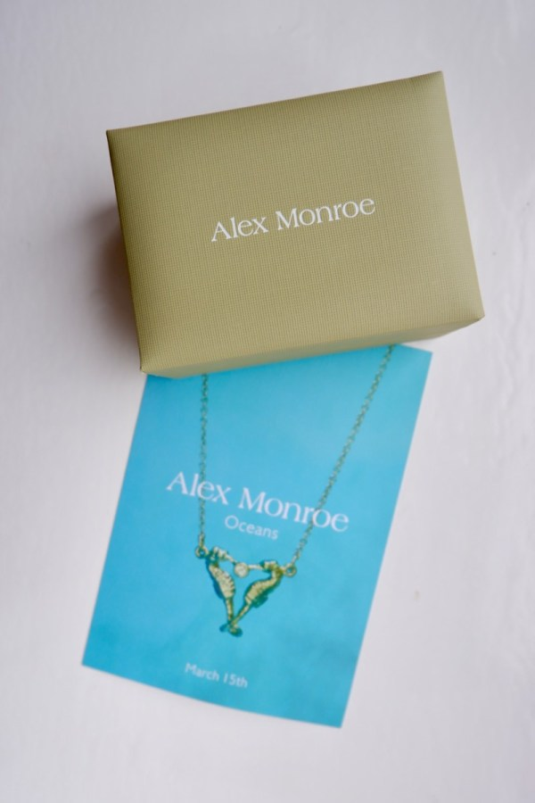 """Alex Monroe """"Oceans"""" Collection (In Partnership with Friends of the Earth) - Review"""