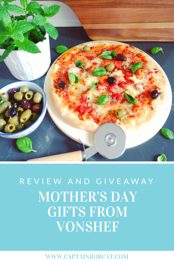 Treat Mum on Mother's Day with VonShef Goodies Plus a Pizza Set Giveaway!