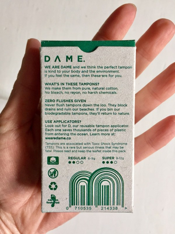 dame tampons
