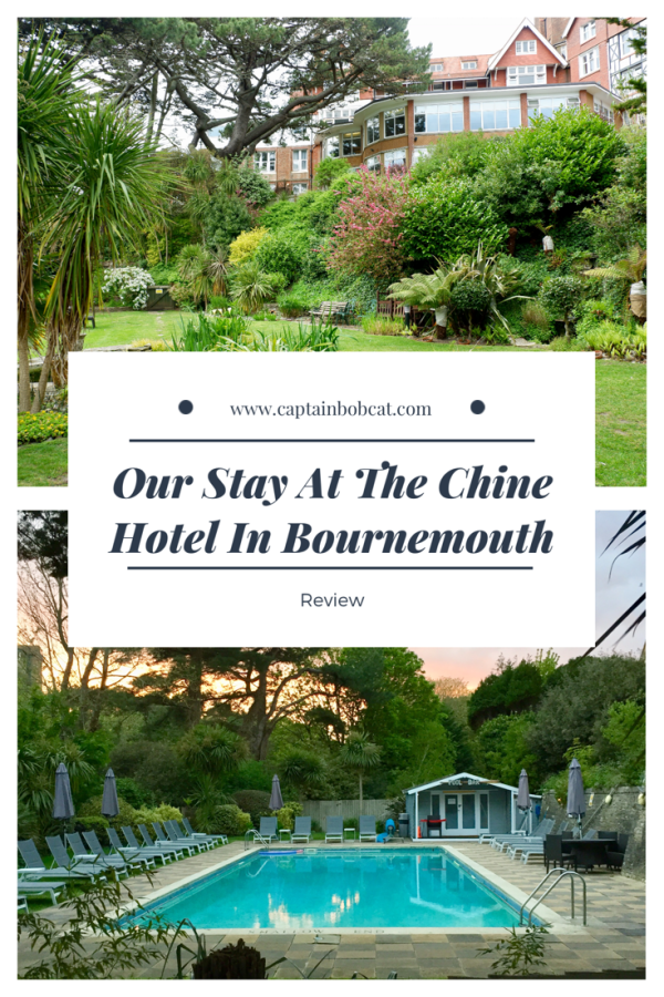 Our Stay at the Chine Hotel in Bournemouth - Review